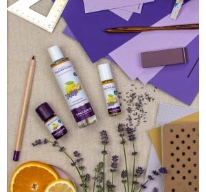 КОНЦЕНТРАЦИЯ арома композиция- лимон, портокал и лавандула